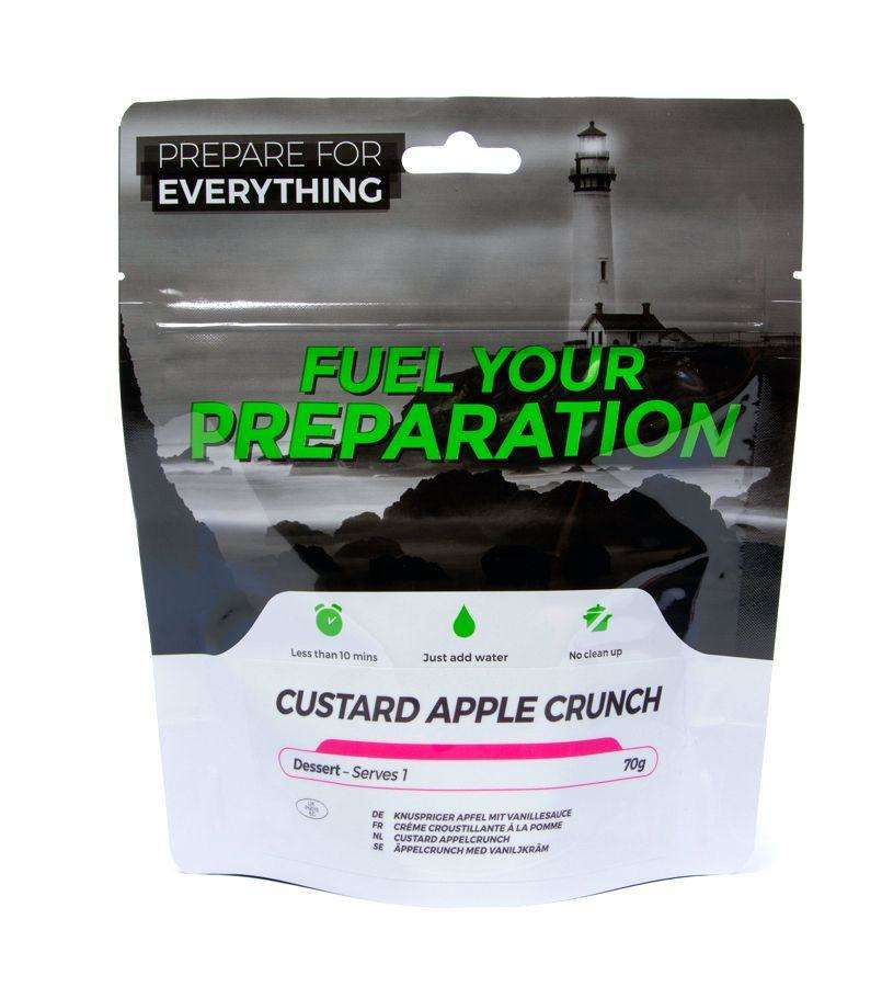 Fuel Your Preparation custard apple crunch camping outdoor meal