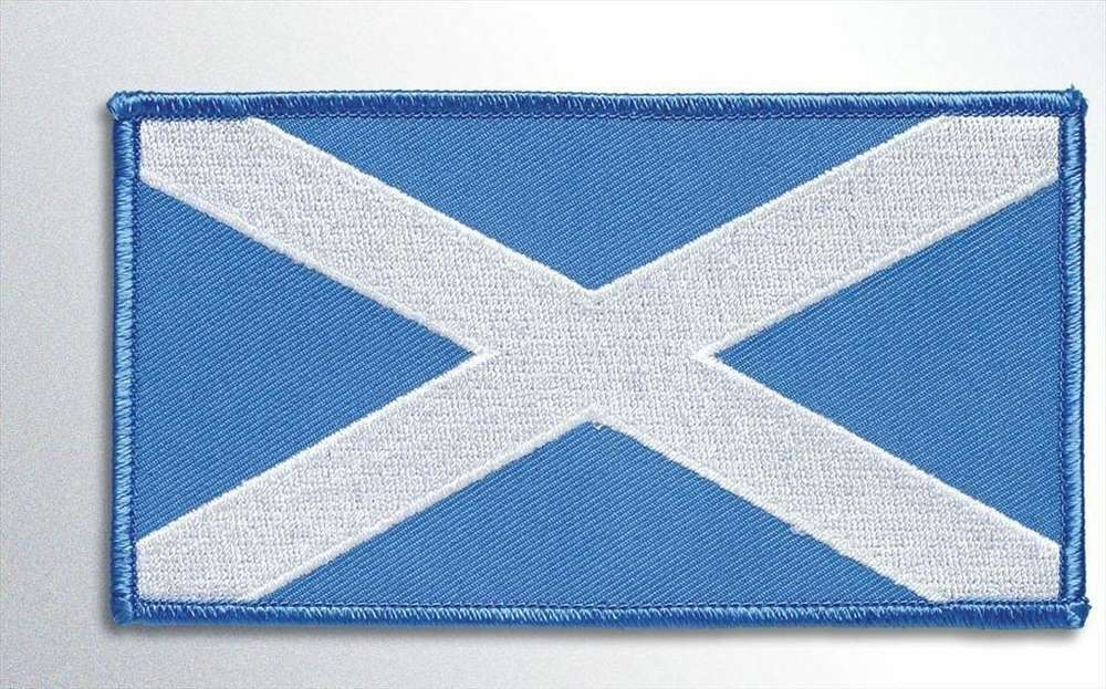 Scotland Large Embroidered Badge