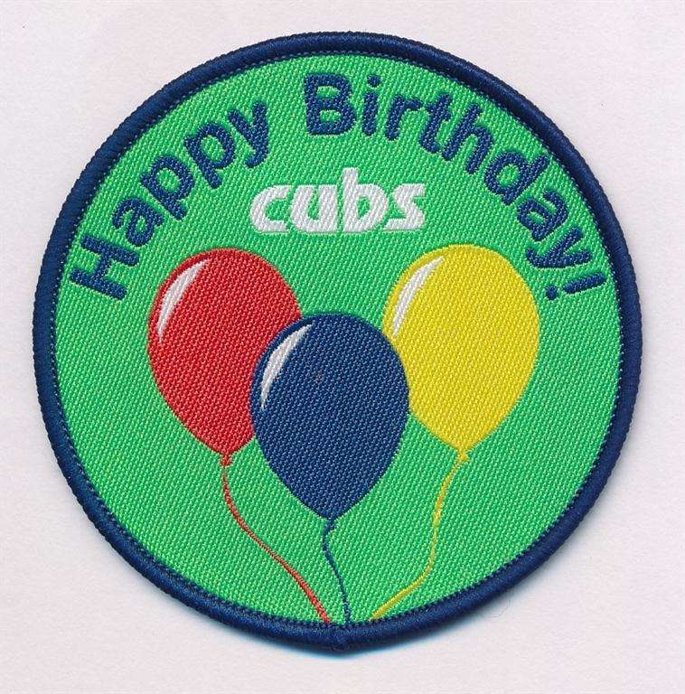Cub Scouts Happy Birthday Fun Badge