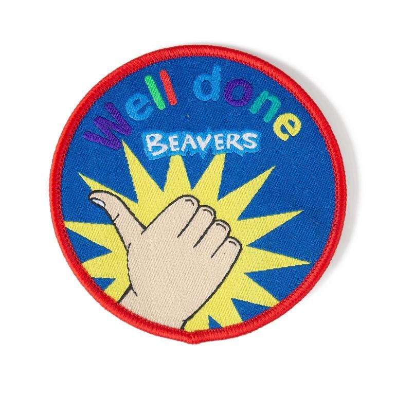 Well Done Badge Beaver Scouts