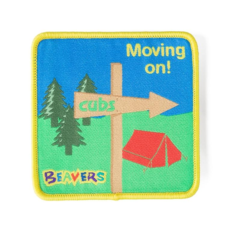 Moving on Fun Badge Beaver