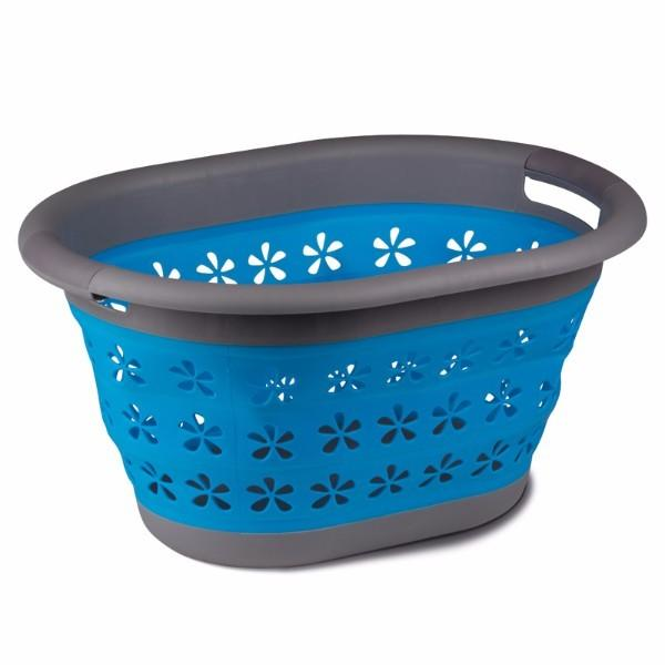 Kampa Collapsible Laundry Basket Blue