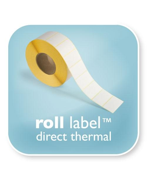 Roll Label Direct Thermal 89x36mm (1000 Labels per Roll)