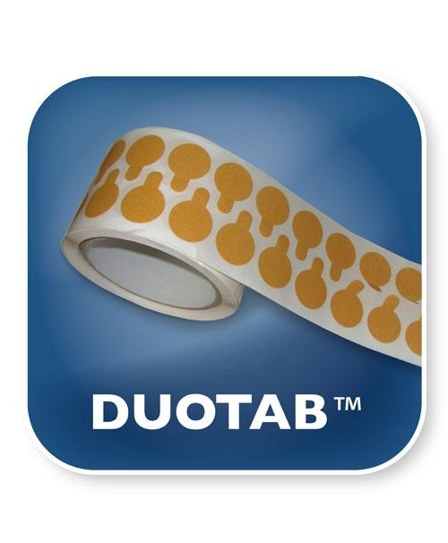 DT22REM - Duotab™ Removable 22mm Diameter Circle