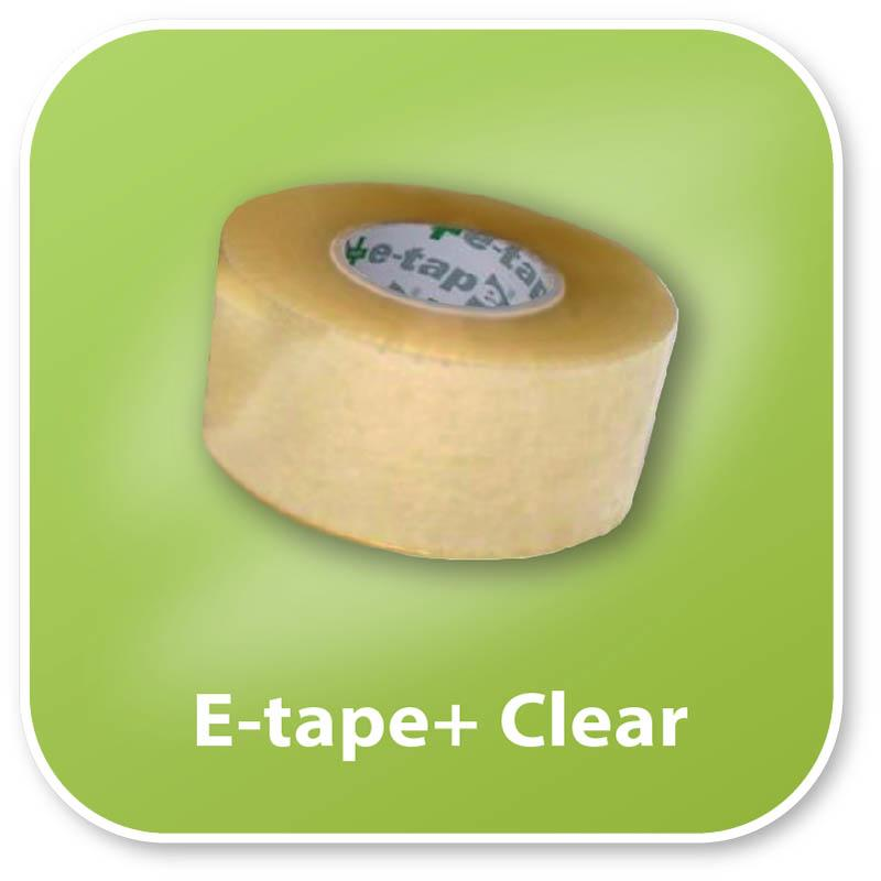 E-Tape+ Clear Hand Tape 48mm x 150mm