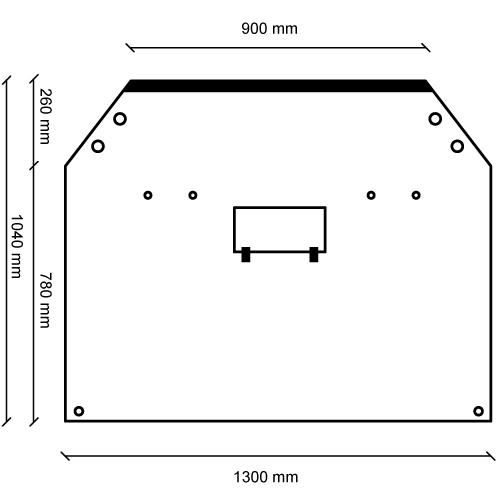 Vehicle Divider Velcro Measurements