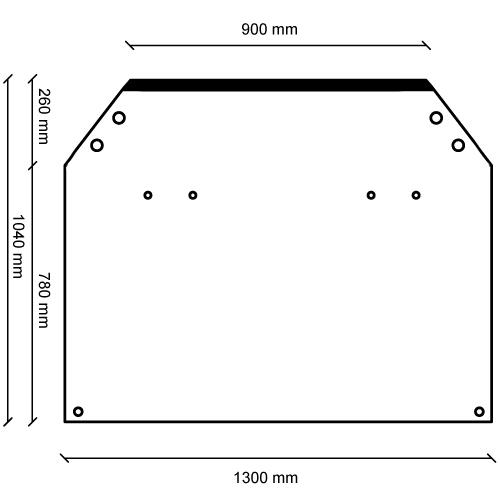 Vehicle Divider Measurements