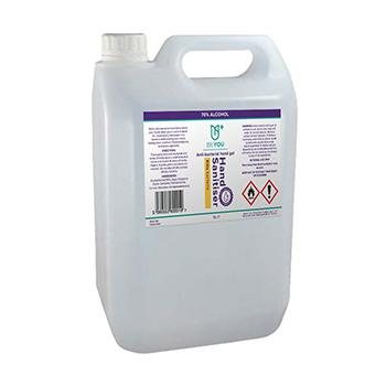 Alcohol Hand Gel Refill 5l