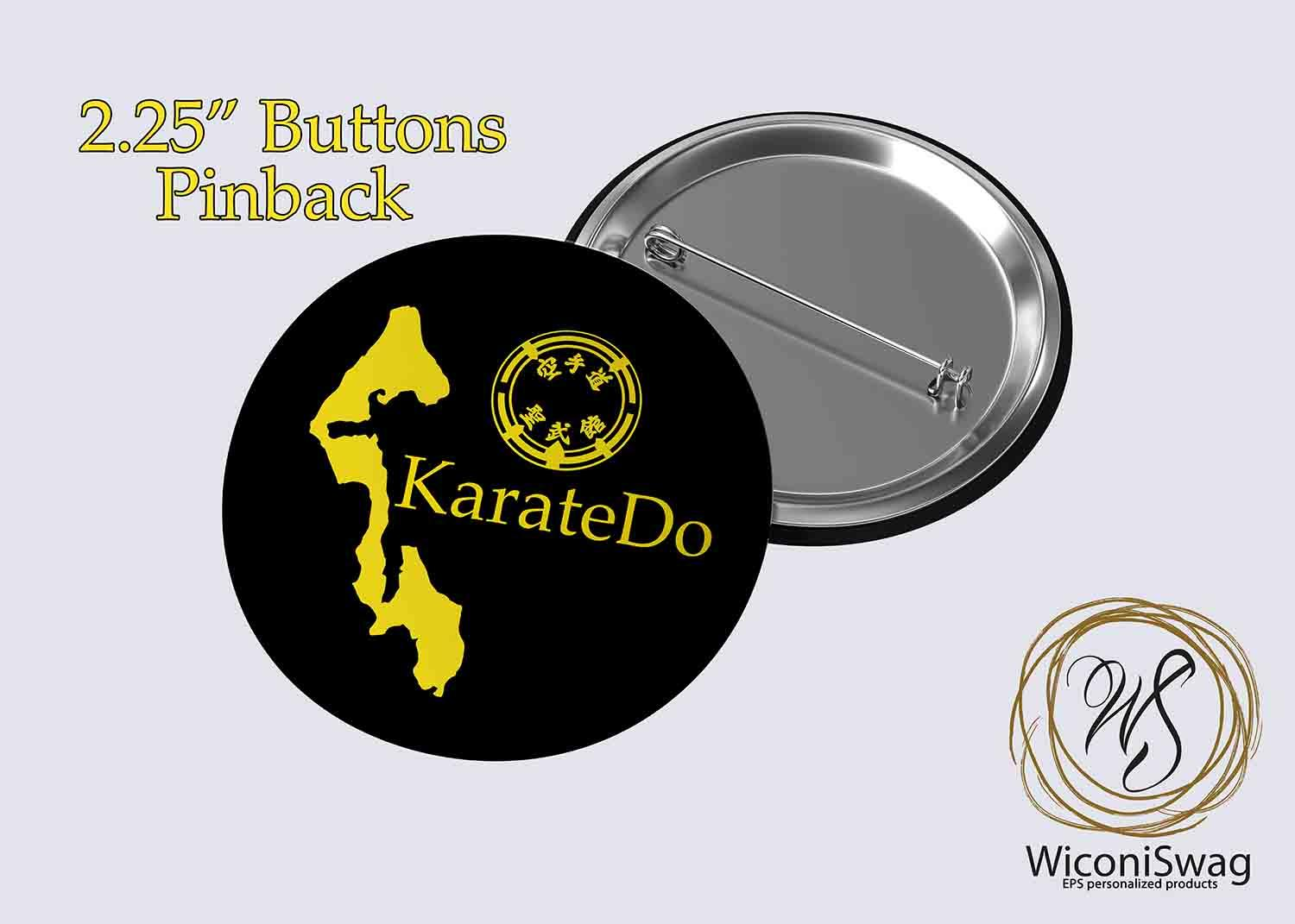 fun buttons, karateDo, oak harbor