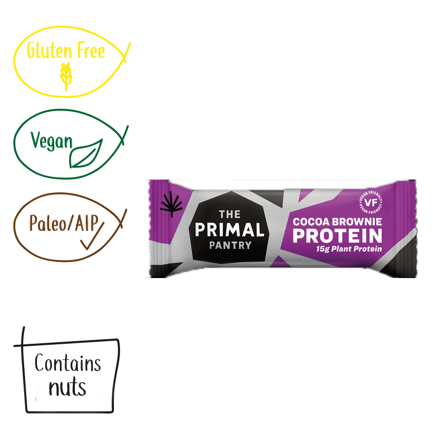 The Primal Pantry Cocoa Brownie Paleo Protein Bar