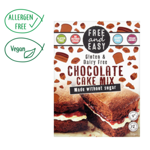 Gluten & Dairy Free Chocolate Cake Mix - Sugar Free