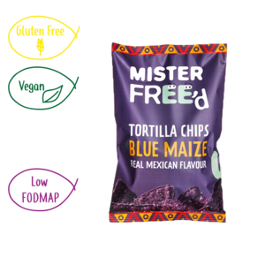 Vegan Tortilla Chips With Blue Maize
