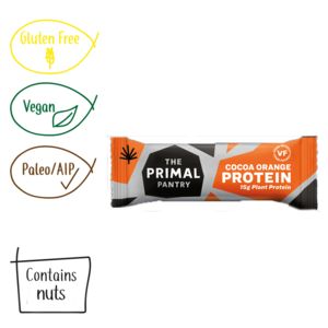 The Primal Pantry Cocoa Orange Paleo Protein Bar