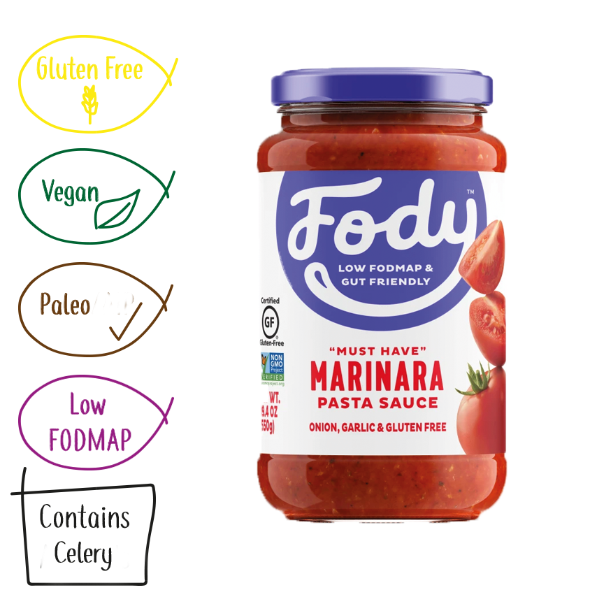 Low Fodmap Marinara Sauce, Fody