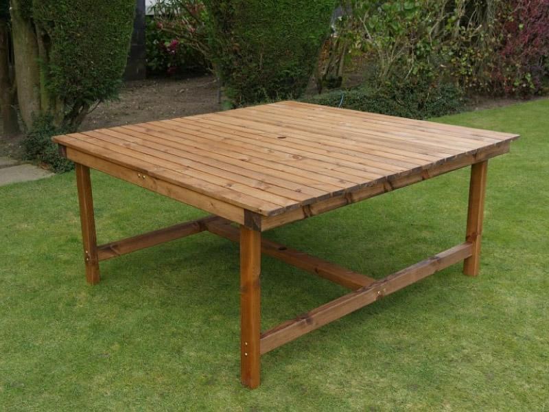 Square Garden Table L168cm