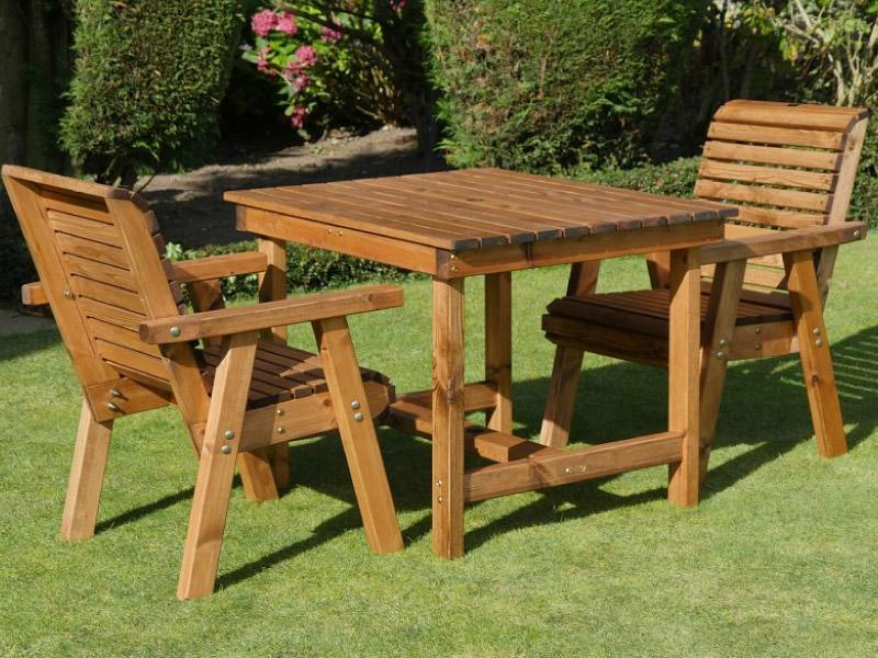 Two Seater Bistro Table Set