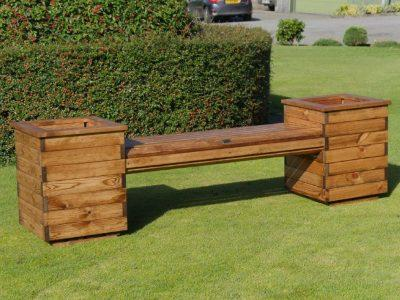 Errol Redwood Planter Seat