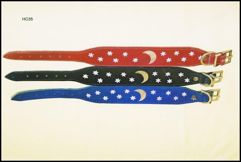 Stars and Stripes Greyhound Collar 19""