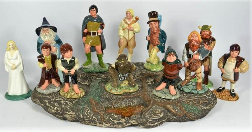 Royal Doulton Lord of the Rings Figurines
