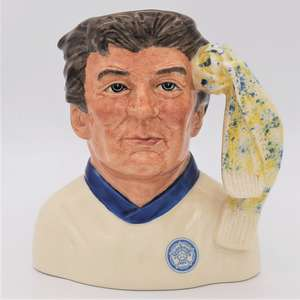 Royal Doulton D6928 Leeds United Football Supporter Character Jug - front