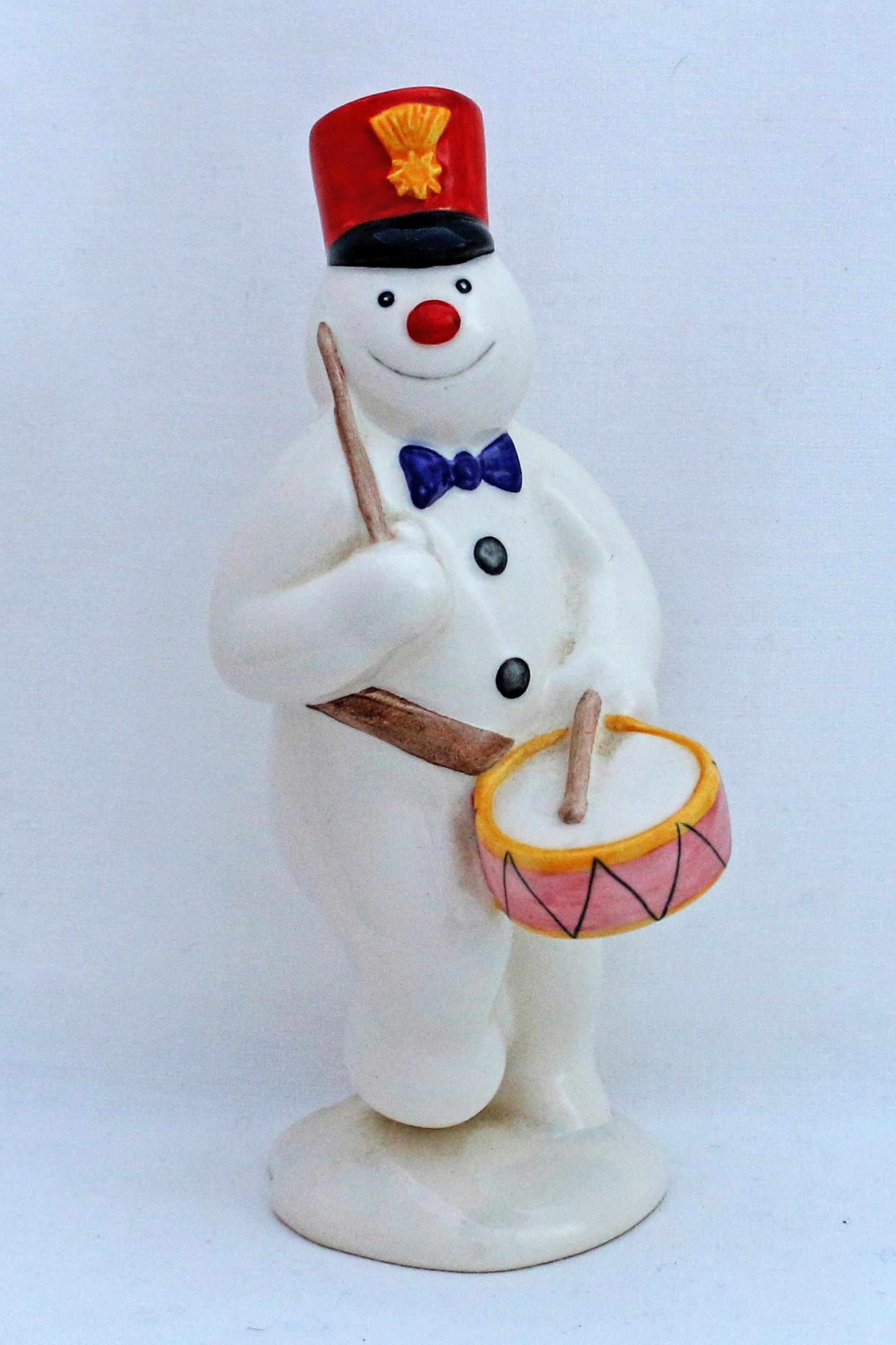 Royal Doulton DS15 Drummer Snowman