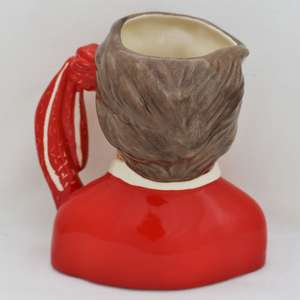 Royal Doulton Liverpool Football Supporter Character Jug D6930 back