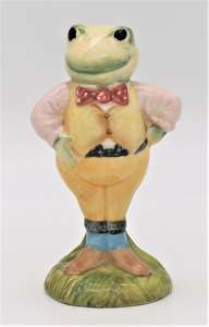Royal Albert Wind In The Willows figure AW1 Toad front