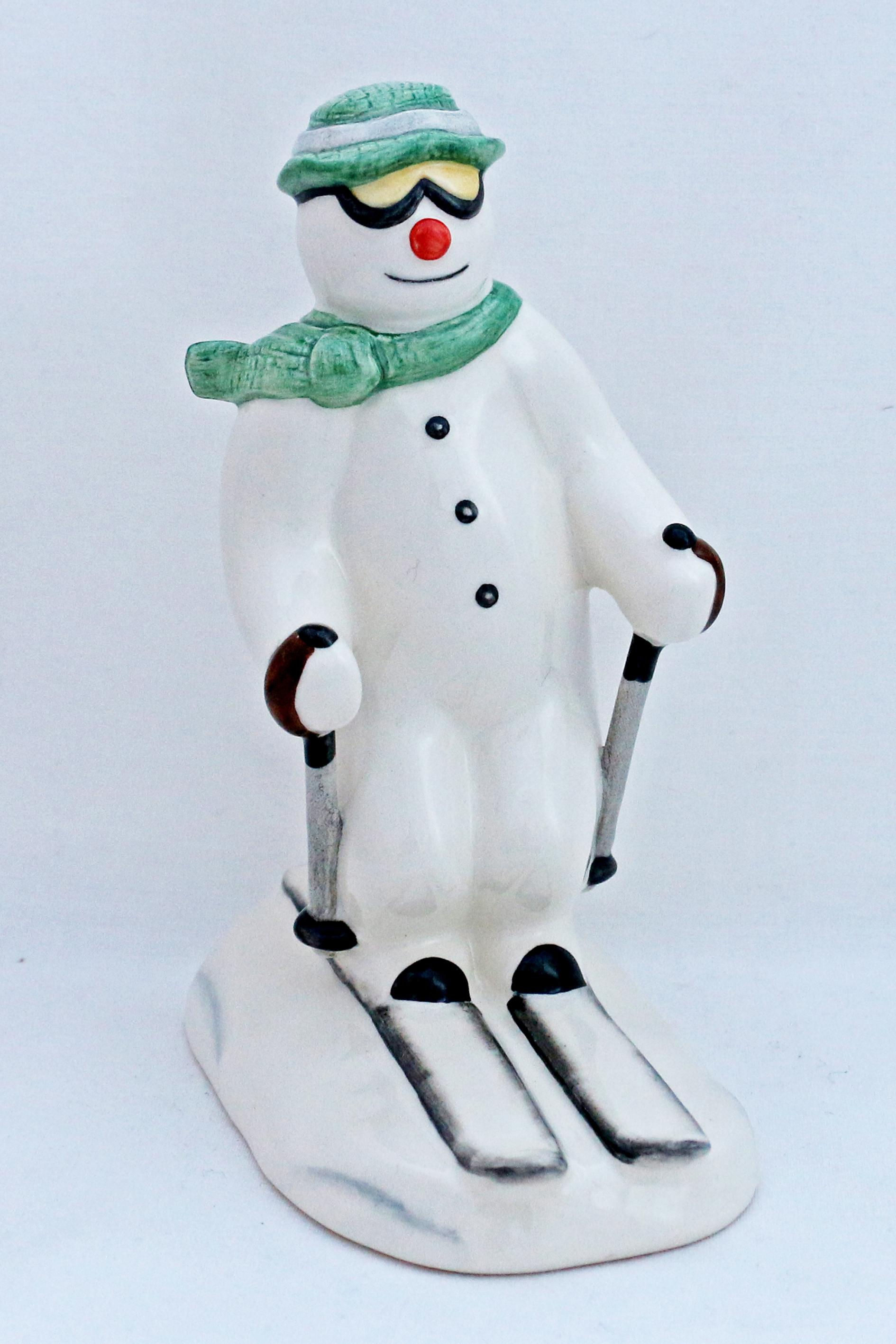 Royal Doulton DS21 The Skiing Snowman