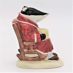 Royal Albert Wind In The Willows figure AW2 Badger side