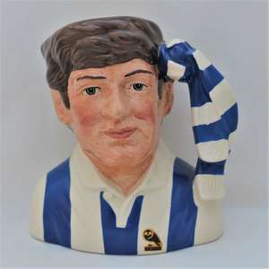 Royal Doulton Sheffield Wednesday Football Supporter Character Jug front