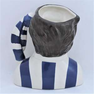 Royal Doulton Sheffield Wednesday Football Supporter Character Jug back
