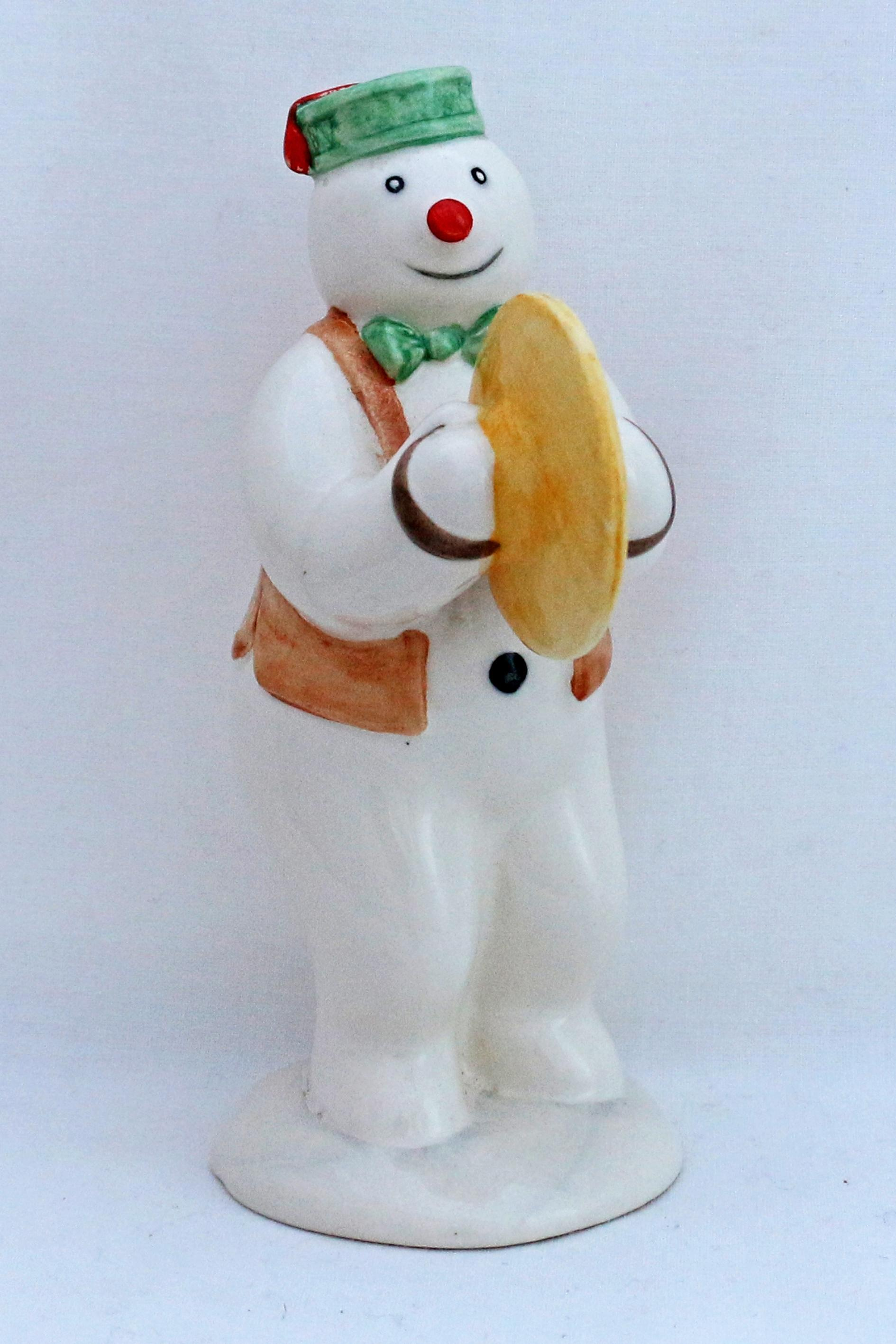 Royal Doulton DS14 Cymbalist Snowman