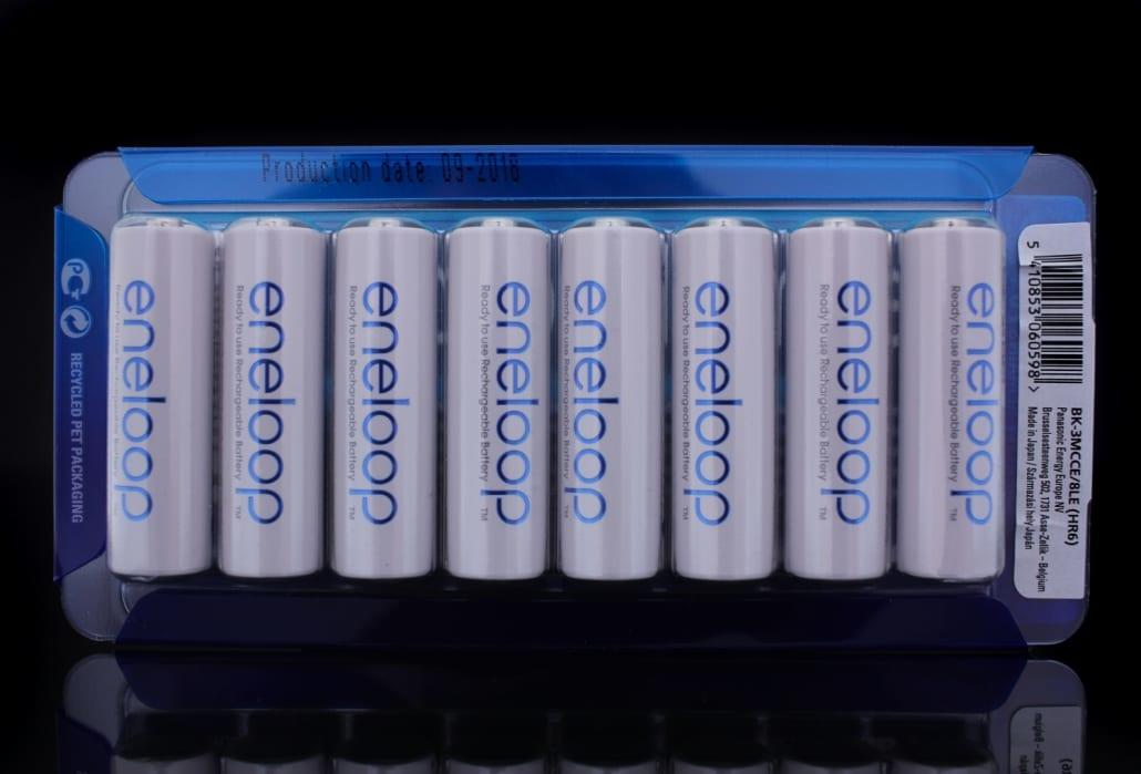 Eneloop Rechargeable AA Battery 8 Pack 1