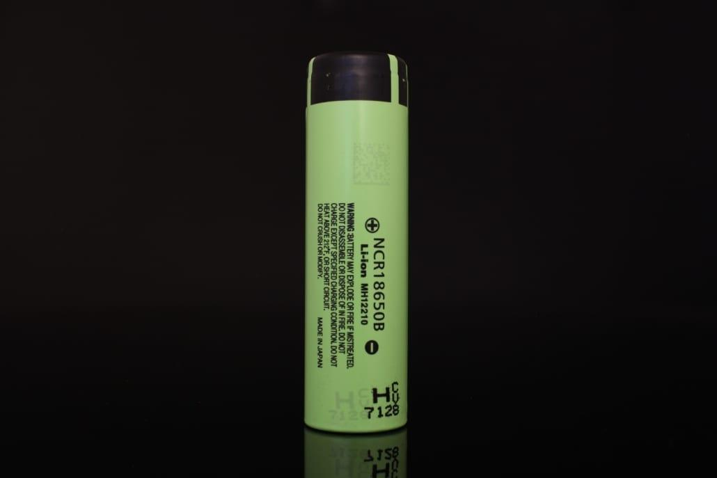 Panasonic NCR18650B 18650 Battery (Button Top) 1