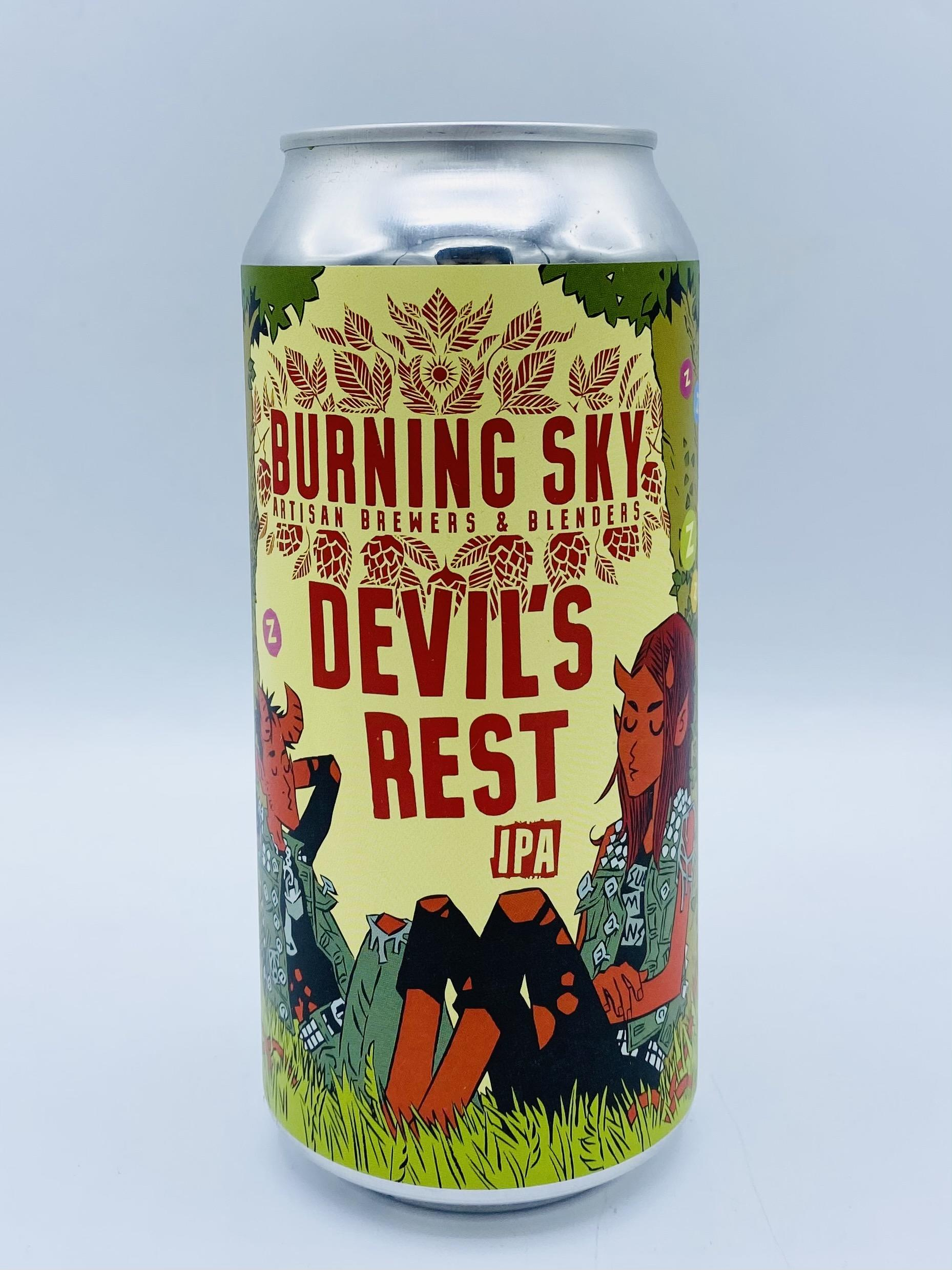 Burning Sky - Devil's Rest 7%