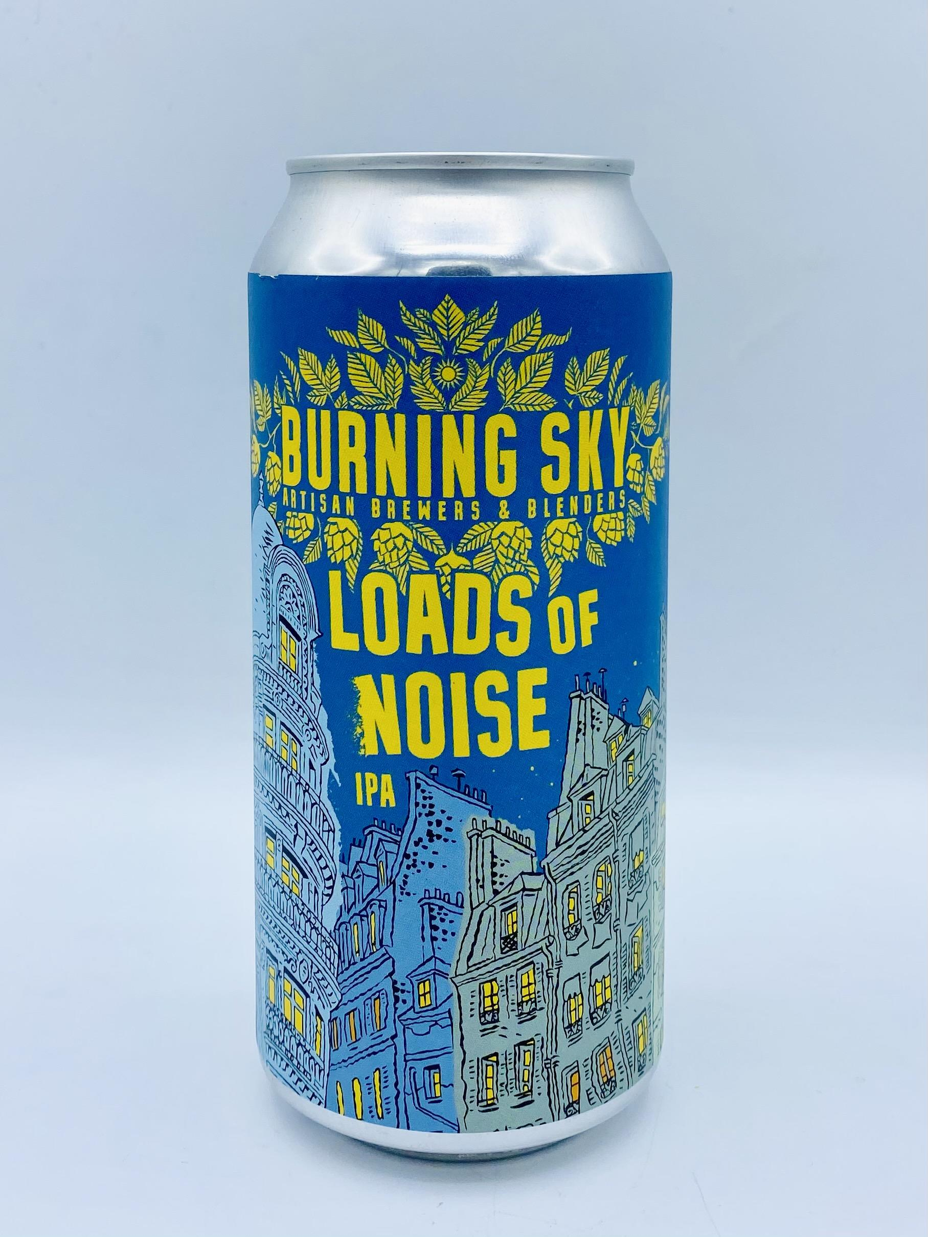 Burning Sky - Loads of Noise 7.4%