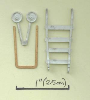 1/48th scale Sack Truck kit