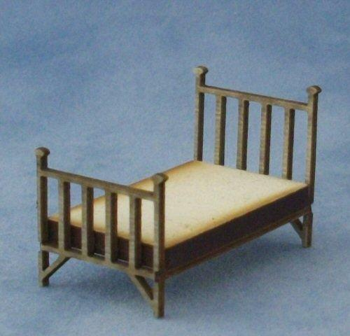 1/48th scale Single Brass Bed Kit