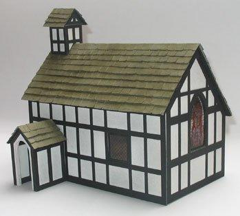 1/48th scale Tudor Church Kit