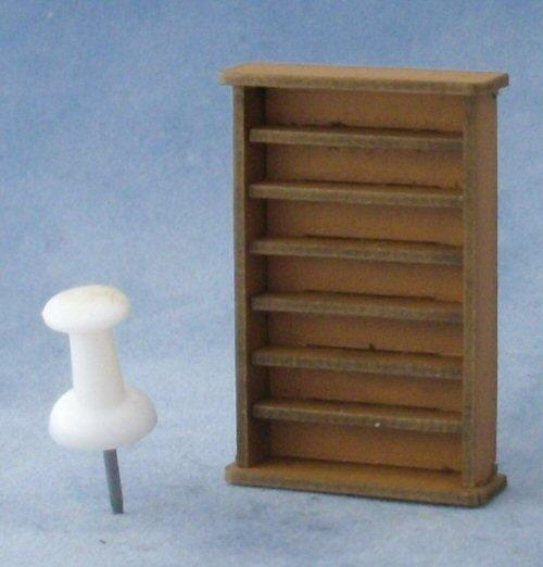 1/48th scale Large Bookshelf Kit