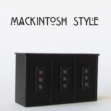 Finished 1/24th scale Mackintosh Style Counter Kit