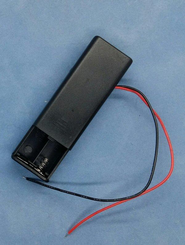 3v Battery Box for LED lights 2 x AAA inside