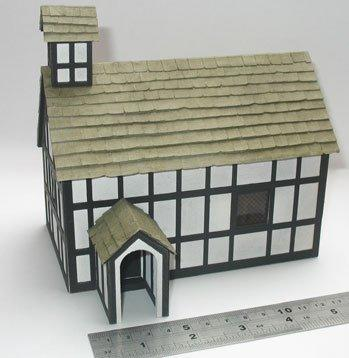 1/48th scale Church Kit by Jane Harrop