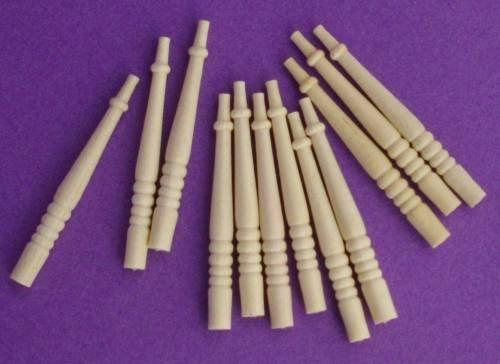 1/24th scale Houseworks Porch spindles