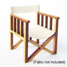 1/24th scale Two Directors Chairs Kit