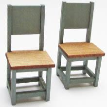 1/24th scale Two Side Chairs Kit