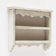 1/24th scale Decorative Wall Shelves Kit