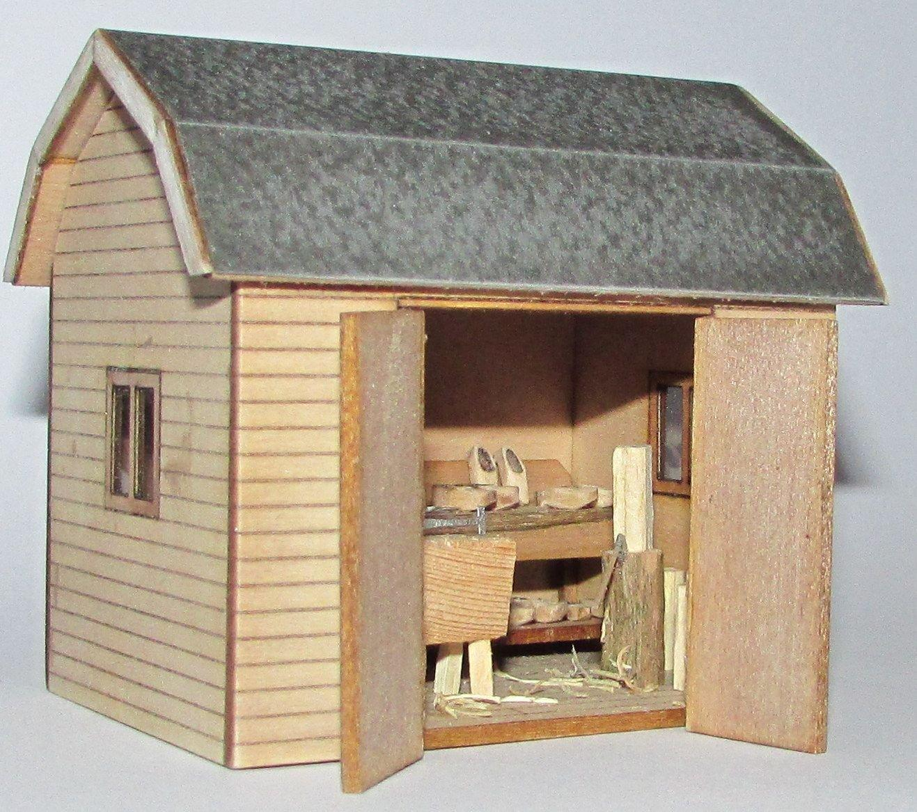 Quarter scale Dutch Workshop or Shed Kit