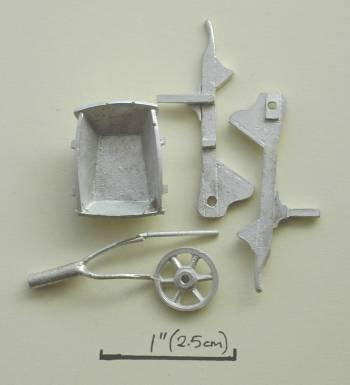 1/48th scale Wheelbarrow Kit