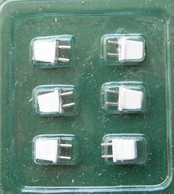 1/24th scale 2 pin Plugs for Lighting